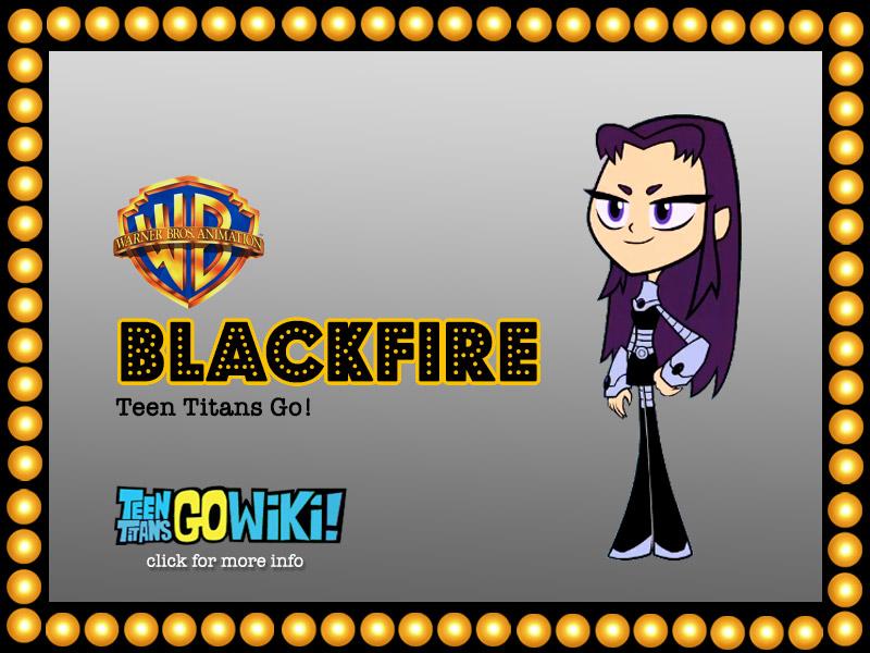 BLACKFIRE TTG | HyndenWalch.com