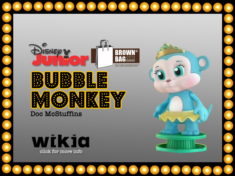 BUBBLE MONKEY | HyndenWalch.com