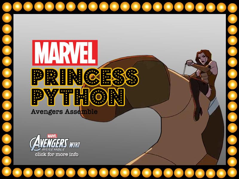 PRINCESS PYTHON   HyndenWalch.com