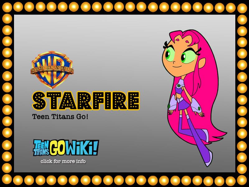 STARFIRE Teen Titans Go! | HyndenWalch.com